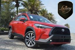 Título do anúncio:  Corolla Cross XRE Modelo 2022 0 KM Vermelho Pronta Entrega