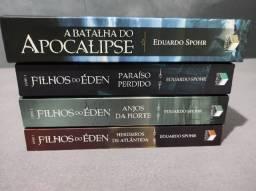 Saga Filhos do Éden + Batalha do Apocalipse edição de Luxo Capa Dura