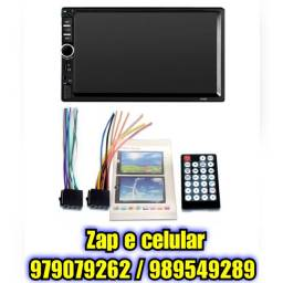 Central Multimídia Mp5 Espelhamento Bluetooth 2din Universal