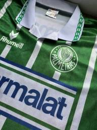 Camisa Palmeiras retrô Parmalat 1993