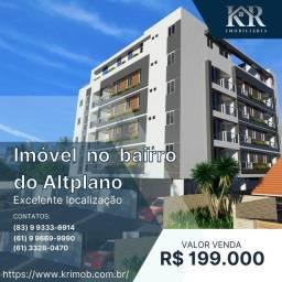 Título do anúncio: Apartamento com 2 dormitórios à venda, 55 m² por R$ 199.000,00 - Altiplano - João Pessoa/P