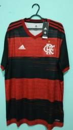 Camisa do Flamengo Rubro Negra Masculina 2020/21