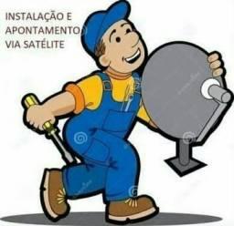 Título do anúncio: Instalação,vendas e manutenção de antenas e câmeras