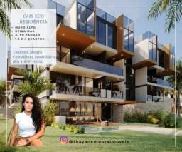 Título do anúncio: (TM) Cais Eco Residência: Alto padrão na beira mar de Muro Alto I Para clientes exclusivos