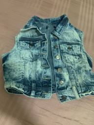 Título do anúncio: Vendo colete jeans, valor 30,00