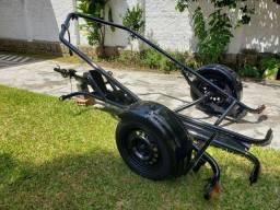Reboque basculante moto Boxcar Speed