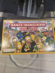 Jogo Banco Imobiliario - The simpsons- Monopoly/Hasbro