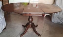 Título do anúncio: Mesa de madeira maçica (aumenta de tamanho)