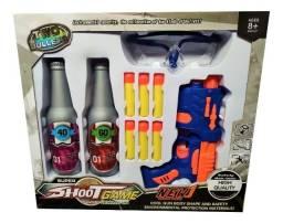 Brinquedo Lança Dardo Com Alvo Shoot Game