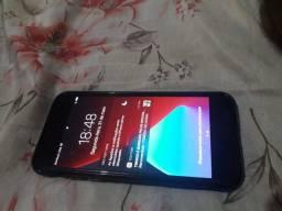 Iphone 7 seminovo 128g top com nota fiscal