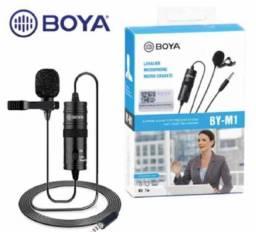 Lapela Boya Microfone original