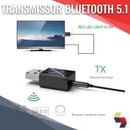 Transmissor e Receptor Bluetooth 5.1| adaptador de áudio estéreo