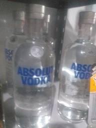 Vodka absoluta original 1L 65 reais