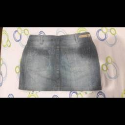 Saia jeans Hering