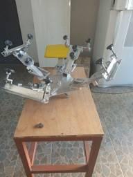 Título do anúncio: Mesa carrossel com 4 braços e 4 garras + Berco
