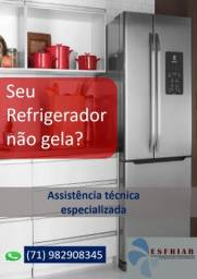 Serviços em refrigeradores , lavadoras ar condicionado ( manutenção , instalação )