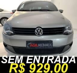 Título do anúncio: Volkswagen Fox 1.0 G2 Único dono 2013 Prata