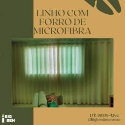 Linho com forro de microfibra 06