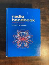 Radio Handbook - Twenty-first Edition - 1978 - Capa Dura - Excelente estado