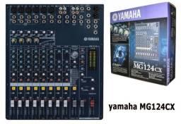 Mesa De Som Yamaha Mg124cx