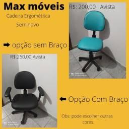 Cadeira Ergométrica seminovo