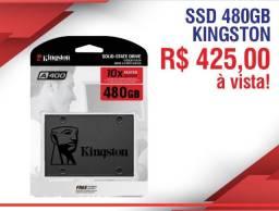 Disco Sólido Interno Kingston Sa400s37/480g 480gb