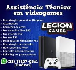 Assistência Técnica em Videogames