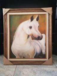 Quadro com moldura - Cavalo