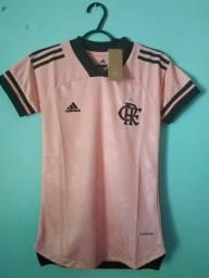 Camisa do Flamengo Outubro Rosa Feminina 2020