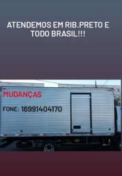 Mudanças transportes p/ todo Brasil