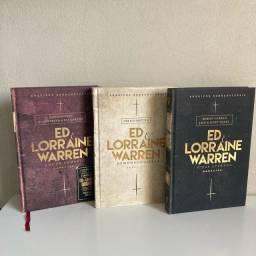 Título do anúncio: Livros Ed e Lorraine Warren Novos