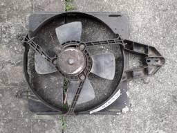 Ventoinha eletroventilador fiat palio 1996 a 2000 com ar