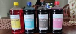 Título do anúncio: Tinta para impressora Epson 1litro cada