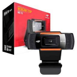 WebCam C3Tech WB-70BK HD 720p USB Preta 1.5m de Cabo