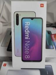 Só dá Xiaomi! REDMI Note 8. Novo LACRADO Garantia entrega hj