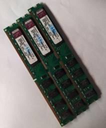 Memórias RAM DDR2 (2GB)