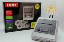 Video game emulador nintendo eony 8 bits 620 jogos inclusos