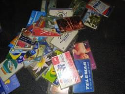 Cartões telemarketing