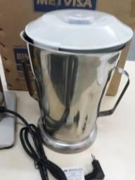 Liquidificador Industrial Metvisa 4litros em INOX