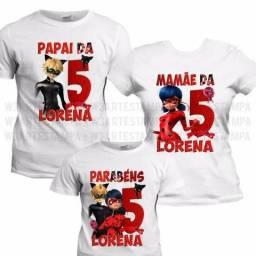 Camisetas Personalizadas | Aniversário | Missa 7 dia | Aula da Saudade | Turma de Faculdad