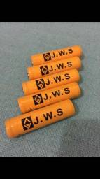 Bateria com chip para lanterna tática - Profissional