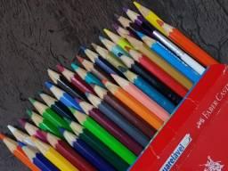 Lápis Faber-Castell MAX Aquarelável 36 Cores Novinho