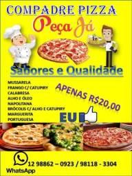 Pizza peça pelo Whatsapp 981183304 ou 988620923