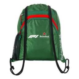 Sacola Oficial Da Heineken Fórmula 1 2018 Importada