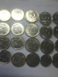Moedas antigas ( centavos de 86/87)