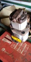 Bomba hidráulica retro escavadeira