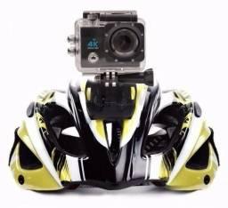 Câmera Capacete Esporte Mergulho Trilha Motocross Hd 1080p 4k