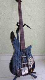 Baixo Yamaha RBX4-A2 Fretless 1.800,00 reais