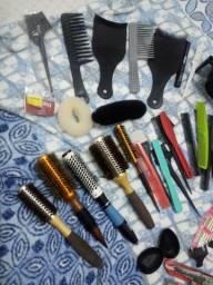 Kit completo de cabeleireiro ou Barbearia