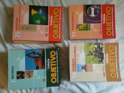 Coleção objetivo 25 livros
